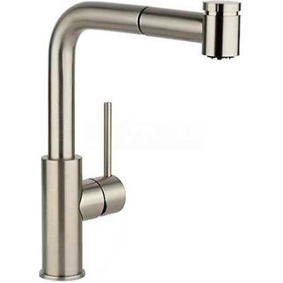 Elkay LKHA3041NK, Harmony Pull Out Kitchen Faucet, Brushed Nickel