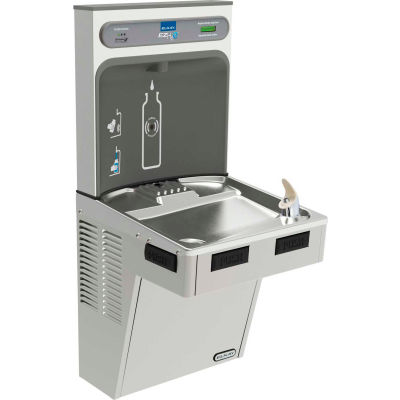 Elkay LMABF8WSSK EZH2O Water Bottle Refilling Station, Single ADA Cooler, Filtered,Refrig, Stainless