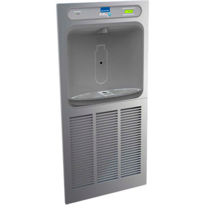 Elkay LZWSM8PK EZH2O Recessed In-Wall Filtered Water Bottle Refilling Station, Refrig, Stainless