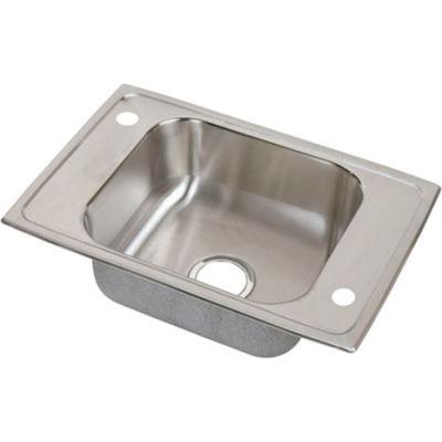 Elkay® CDKAD2517652 Celebrity Stainless Steel Single Bowl Drop-in Classroom ADA Sink