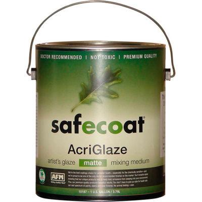 AFM Safecoat AcriGlaze Matte, White Gallon Can 1/Case - 10187