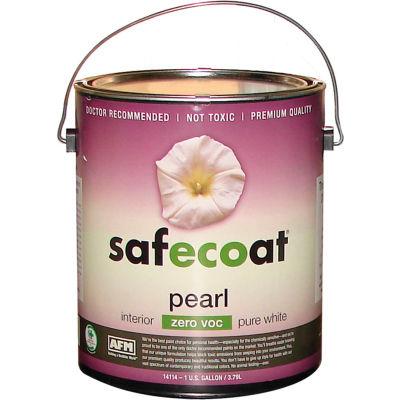 AFM Safecoat Pearl Enamel Tint Base 0 VOC, White 32 Oz. Can 1/Case - 14234