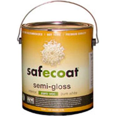 AFM Safecoat Semi Gloss Enamel Deep Base 0 VOC, White 32 Oz. Can 1/Case - 14262