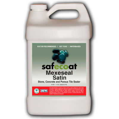 AFM Safecoat Mexeseal Satin, White 5 Gallon Pail 1/Case - 31387
