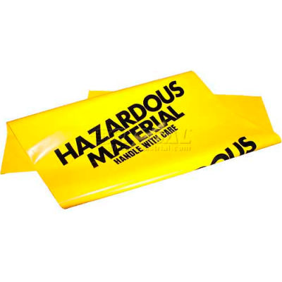 ENPAC® HazMat Material Yellow Disposal Bags, 250 Per Case