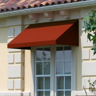 Awntech EN1030-3TER, Window/Entry Awning 3-3/8'W x 1-5/16'H x 2-1/2'D Terra Cotta