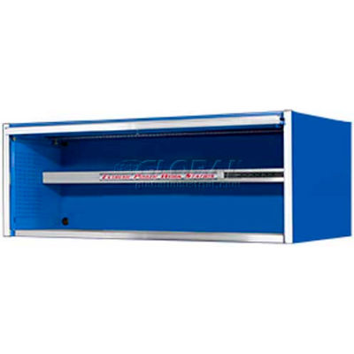 """Extreme Tools 72"""" Professional Power Workstation Hutch in Blue"""