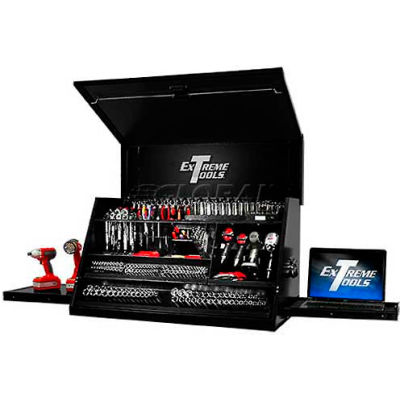 """Extreme Tools 41"""" Deluxe Portable Workstation® in Textured Black"""