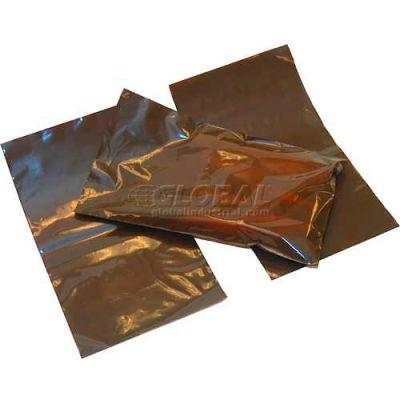"""Open-Ended Amber Bag, 2 mil, 6"""" x 10"""", Pkg Qty 1000"""