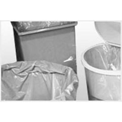 "Low Density 4-7 gal. Trash Can Liner, White, 13"" x 4"" x 17"", Pkg Qty 1000"