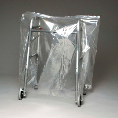 """Low Density Equipment Cover on Roll, 1 mil, 38"""" x 26"""" x 48"""", Clear, Pkg Qty 150"""