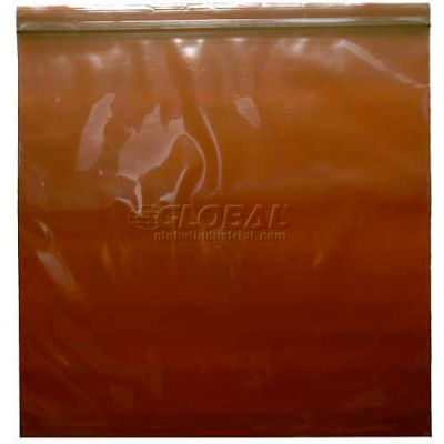 """3 Mil Amber Seal Top Bags, 3""""L x 2""""W, Pack of 1000"""