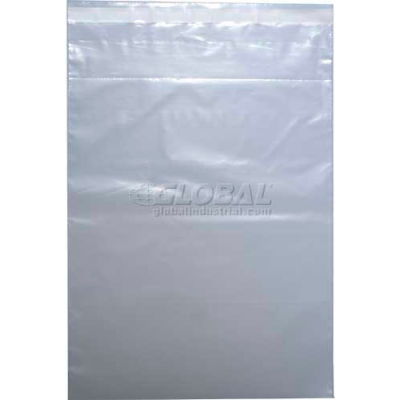 "Tamper Evident Crash Cart/Drug Tray Security Bag, 2 mil, 14"" x 22"", Pkg Qty 500"