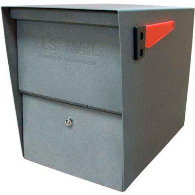 Mail Boss Package Master Commercial Locking Mailbox Granite