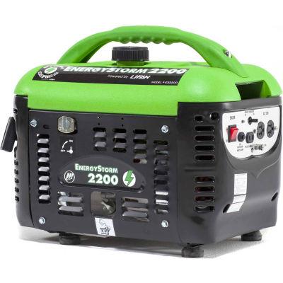 Lifan Power USA ES2200SC, 1800 Watts, Portable Generator, Gasoline, Recoil Start, 120V