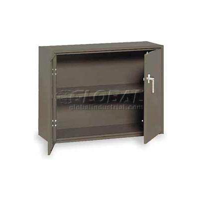 "Equipto Handy Cabinet w/1 Shelf, 30""W x 13""D x 27""H, Smooth Office Gray"