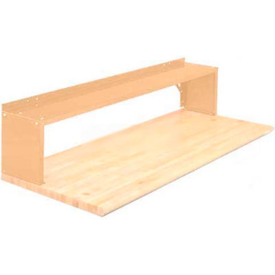 Equipto® Aerial Shelf For Bench 226-30-PY, Putty