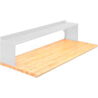 Equipto® Aerial Shelf For Bench 226-60-WH, Reflective White