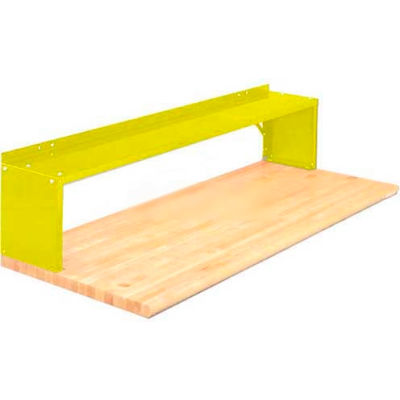Equipto® Aerial Shelf For Bench 226-60-YL, Safety Yellow