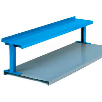 """Equipto® Production Booster 454T48-GN, 48""""W X 14""""H, 1 Shelf, Evergreen"""