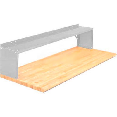 """Equipto® Production Booster 454T48-LG, 48""""W X 14""""H, 1 Shelf, Dove Gray"""