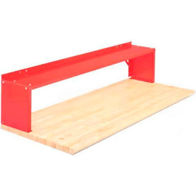 """Equipto® Production Booster 454T60-RD, 60""""W X 14""""H, 1 Shelf, Cherry Red"""