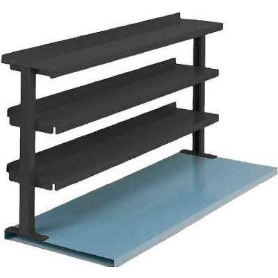 "Equipto® Production Booster 463T48-BL, 48""W X 36""H, 3 Shelves, Regal Blue"