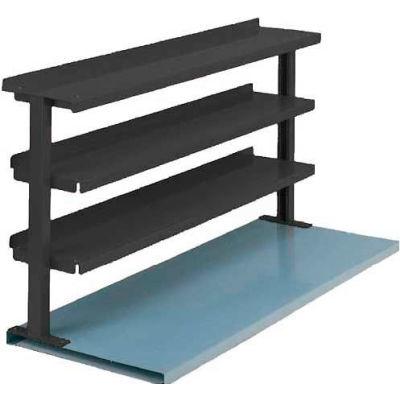 "Equipto® Production Booster 463T48-BL, 48""W X 36""H, 3 Shelves, Regal Blue"