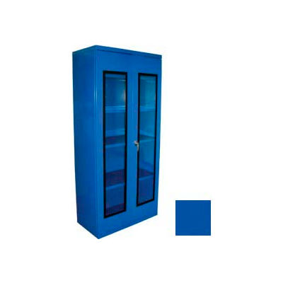 Equipto Additional Shelf for 36 x 24 Quick View Storage Cabinet - Textured Regal Blue