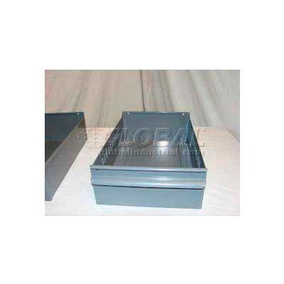 "Equipto Individual Metal Shelf Drawer, 8-3/8""W x 11""D x 3-1/8""H, Textured Evergreen"