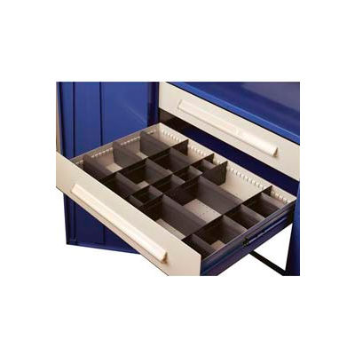 """Equipto Wide Drawer / Bolted Shelving 36""""W X 24""""D X 9""""H 400lb Capacity, Textured Evergreen"""