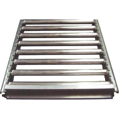 "Track Span - 15""W x 36""D Section Flow Rack Span - Mirror Silver"