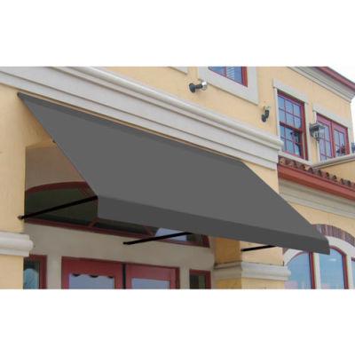 Awntech ER23-10G, Window/Entry Awning 10-3/8'W x 2'H x 3'D Gray