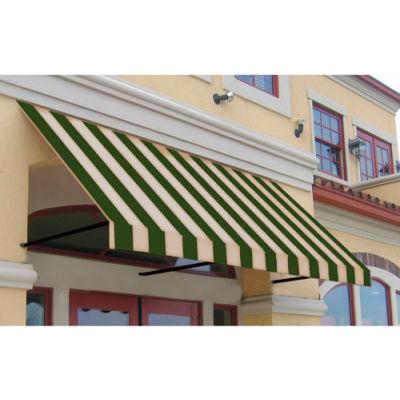 Awntech ER23-10SLCR, Window/Entry Awning 10-3/8'W x 2'H x 3'D Sage/Linen/Cream