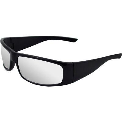 Boas® Xtreme Safety Glasses, ERB Safety, 17920 - Black Frame, Clear Lens - Pkg Qty 12