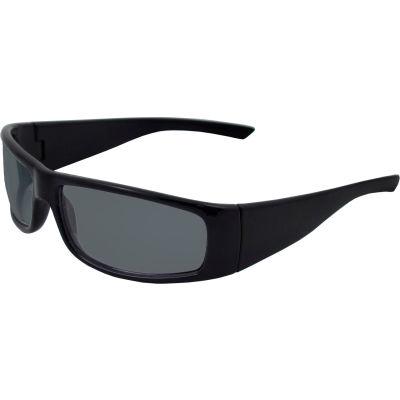 Boas® Xtreme Safety Glasses, ERB Safety, 17921 - Black Frame, Smoke Lens