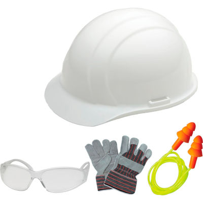 PPE Safety Kit, ERB Safety 18531 - White
