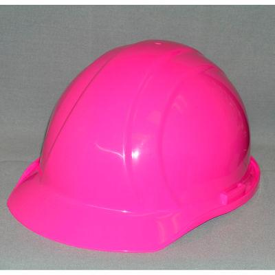 ERB™ 19769 Americana Hard Hat, 4-Point Pinlock Suspension, Hi-Viz Pink