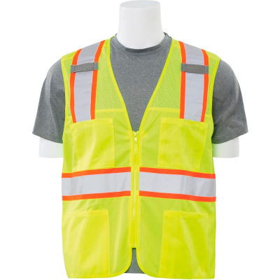 Aware Wear® Non-ANSI Vest, 61321 - Lime, Size L