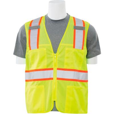 Aware Wear® Non-ANSI Vest, 61326 - Lime, Size 5XL