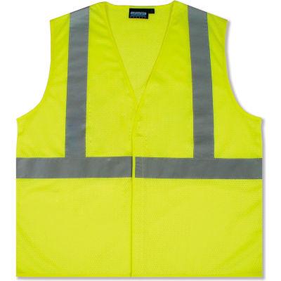 Aware Wear® ANSI Class 2 Economy Mesh Vest, 61430 - Lime, Size 4XL