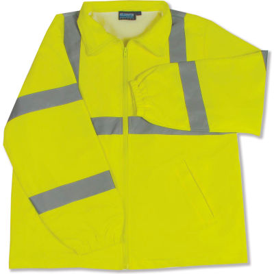 Aware Wear® ANSI Class 3 Windbreaker, 61570 - Lime, Size M