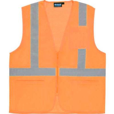 Aware Wear® ANSI Class 2 Economy Mesh Vest, 61664 - Orange, Size 5XL