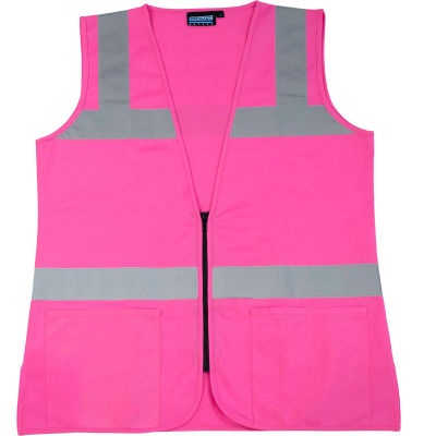 Aware Wear® S721 Non-ANSI Female Vest, 61912, Pink, XL
