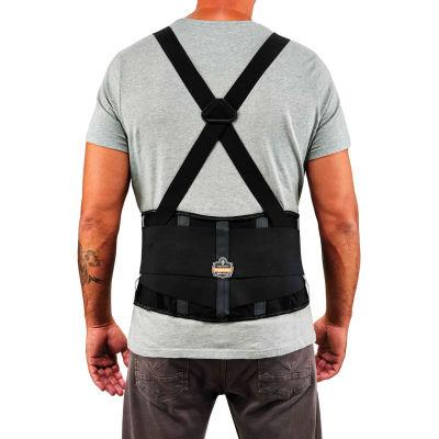 Ergodyne® ProFlex® 2000SF High-Performance Back Support, Black, Large