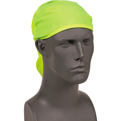 Ergodyne® Chill-Its® 6710CT Evap. Cooling Triangle Hat w/ Built-In Cooling Towel, Lime