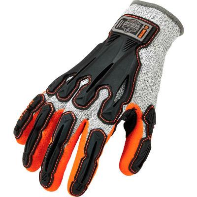 Ergodyne® ProFlex® 922CR Level 5 Cut Resistant Nitrile-Dipped DIR Gloves, Gray, 2XL, 1 Pr