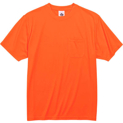 Ergodyne® GloWear® 8089 Non-Certified T-Shirt, Orange, 3XL