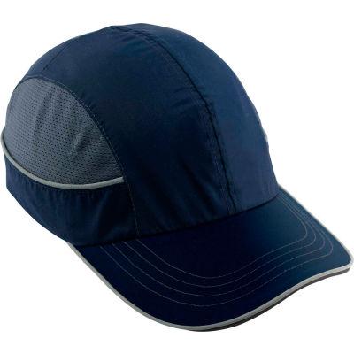 Ergodyne® Skullerz® 8950 Bump Cap, Navy, Long Brim, One Size