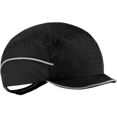 Ergodyne Skullerz® 8955 Lightweight Bump Cap, Micro Brim, Black